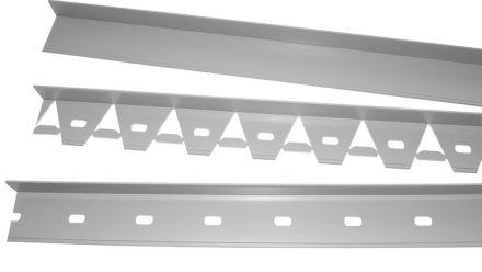 PVC kunststof Kantopsluitingssystemen (Gardliner opsluiting van  3,5 en 4,5 cm hoog, voor opsluiting van o.a. gazon, klinkers, split en grindpaden)