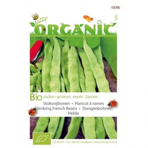 Stoksnijbonen Helda (biologisch zaad 15 gram)