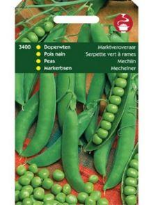 Doperwten Marktveroveraar (100 gram, Mechelse groene krombek)