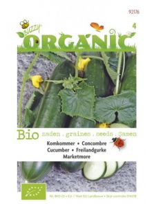 Komkommer Marketmore (biologisch zaad)