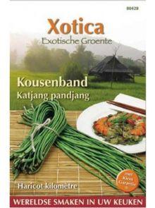 Kouseband (zaad, Katjang pandjang, Vigna sesquipedalis)