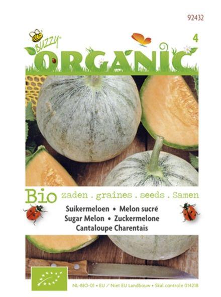 Meloenen Cantaloupe Charentais (biologisch geteelde suikermeloen zaden)