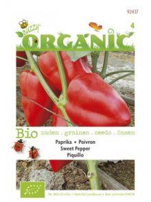 Paprika Piguillo rood (biologisch geteelde paprika zaad)