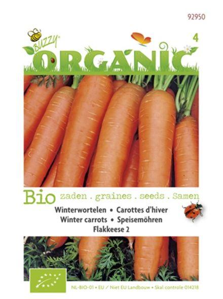 Winterwortelen Berlikum 2 (biologisch geteelde wortel zaad)
