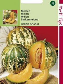 Suikermeloen Oranje Ananas (Meloenenzaad)