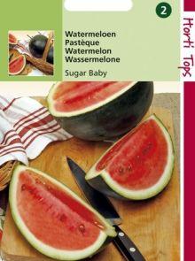 Watermeloen Sugar Baby (Meloenenzaad)