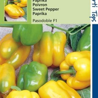 Paprika Pasodoble (F1 hybride zaden gele paprika)