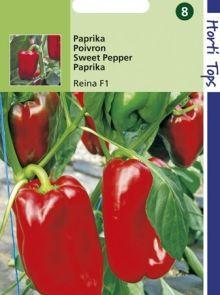Paprika Reina (f1 hybride zaad rode paprika)