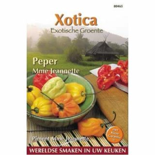 Peper Madame Jeannette (zaad Surinaamse peper)