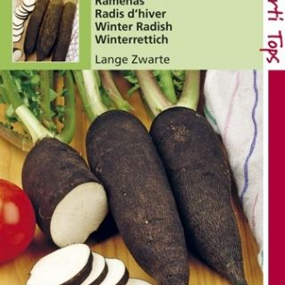 Ramenas Lange Zwarte (zaad, Winterradijs of Winterramenas)