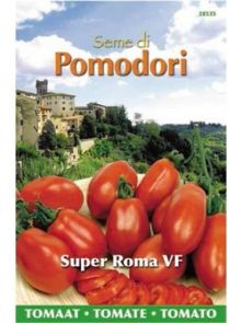 Tomaten Roma VF (zaad Roma tomaat)