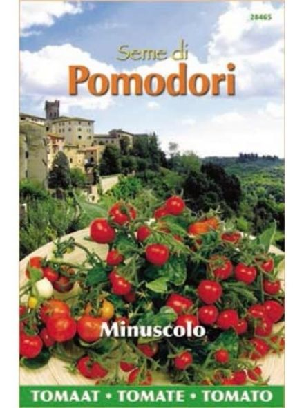 Mini kerstomaat Pomodori Minuscolo (zaad tomaten)
