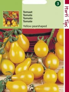 Tomaat Yellow Pearshaped (Glele tomaten, zaad)