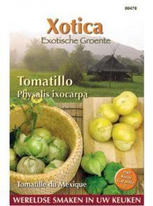 Tomatillo, Physalis ixocarpa, Mexicaanse Aardkers (zaad)