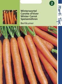 Wortelen Berlikumer (zaad, Winterwortel)
