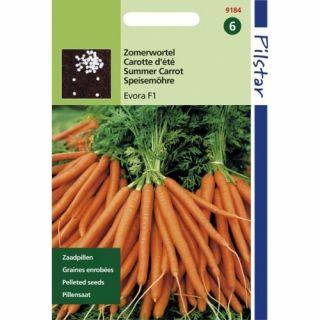 Wortelen Evora f1 (pillenzaad zomerwortel)