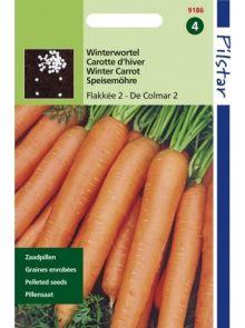 Wortelen Flakkee 2 - De Colmar 2 (pillenzaad Flakkese winterwortel)