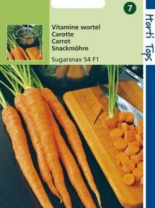Wortelen Sugarsnax 54 f1 hybride (zaad vitamine wortel)