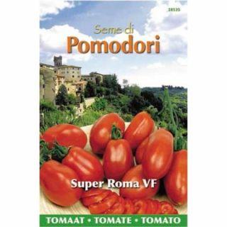 Pomodori tomaat Super Roma VF (zaad, geschikte voor soep)