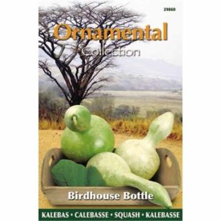 Fleskalebas Birdhouse Bottle (zaad Gourd, Ornamental Collection)