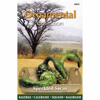 Fleskalebas Speckled Swan (zaad, Gourd, Ornamental Collection)