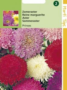 Callistephus chinensis Prinses (zaad zomeraster)