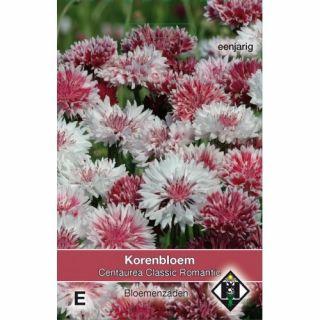 Centaurea cyanus Classic Romantic (zaad korenbloemmengsel)