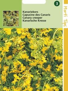 Tropaeolum peregrinum (zaad Kanariekers)