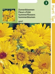 Zaadmengsel Zomerbloemen geel