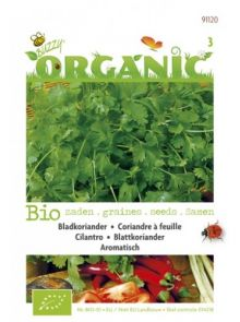 Koriander (biologisch zaad, bladkoriander)