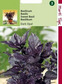 Basilicum Dark Opal (zaad, blad donkerrood - paars)