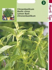 Citroenbasilicum (zaad)