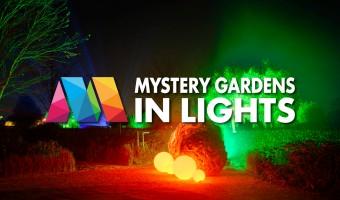 Mystery Gardens in Lights 2017