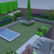 Uw tuin al beleven in het ontwerp