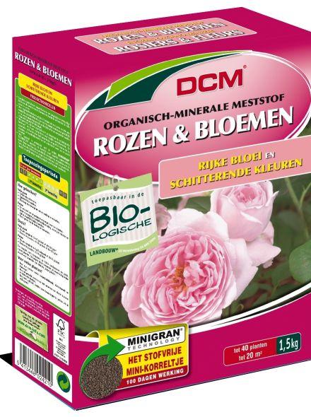 DCM Organische Meststof Rozen & Bloemen 1,5 kilogram (Rozenmest)