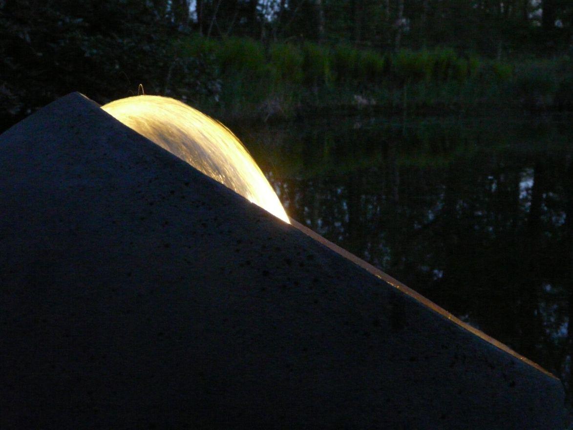 Verlichtingsset Bol Water (warm wit)