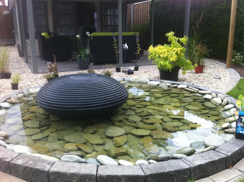 Zitkuil, Ondiepe waterpartij en stapstenen