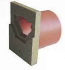 ACO Euroline eindplaat met PVC uitloop 110mm, H = 150mm (ACO Easygarden artikelnummer 38505)
