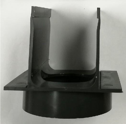 ACO SlimLine onderuitloop 80mm (ACO Easygarden artikelnummer 19002)