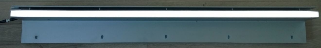 Euroline LEDline RVS L=1000mm, incl goot en LED element (ACO Easygarden artikelnummer 406675-LED)
