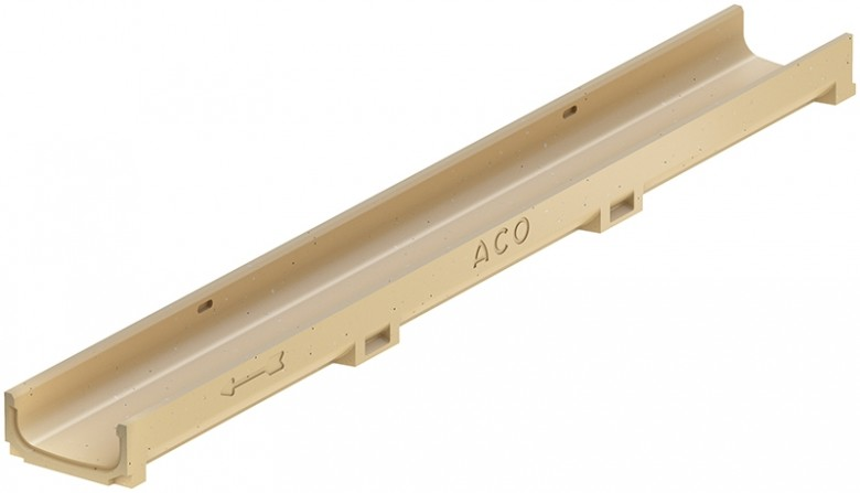 Euromini, Euroline H60 gootelement L=1000mm (ACO Easygarden sleufgoot artikelnummer 810000)