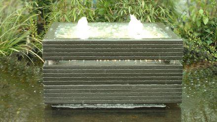Vijverset Waterelement 70 X 70 cm (Waterornament Creablok)