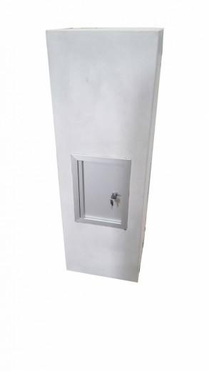 Betonnen brievenbus ZUIL antraciet (brievenbus van beton artikelnummer 10215A)