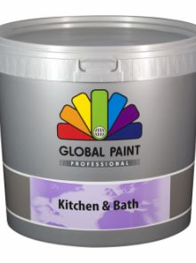Global Paint - Kitchen & Bath - 10 liter (schimmelbestendige muurverf)