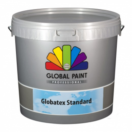 Global Paint - Globatex Standard Wit (10 liter latex muurverf)
