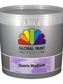 Global Paint - Quarts Medium 8 kilo (Structuurverf)