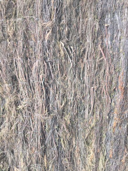 Heidemat 200 cm lang x 150 cm hoog x 4 cm dik (Geluiddempend vermogen)