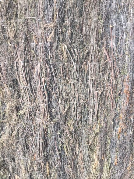 Heidemat 200 cm lang x 180 cm hoog x 4 cm dik (Geluiddempend vermogen)
