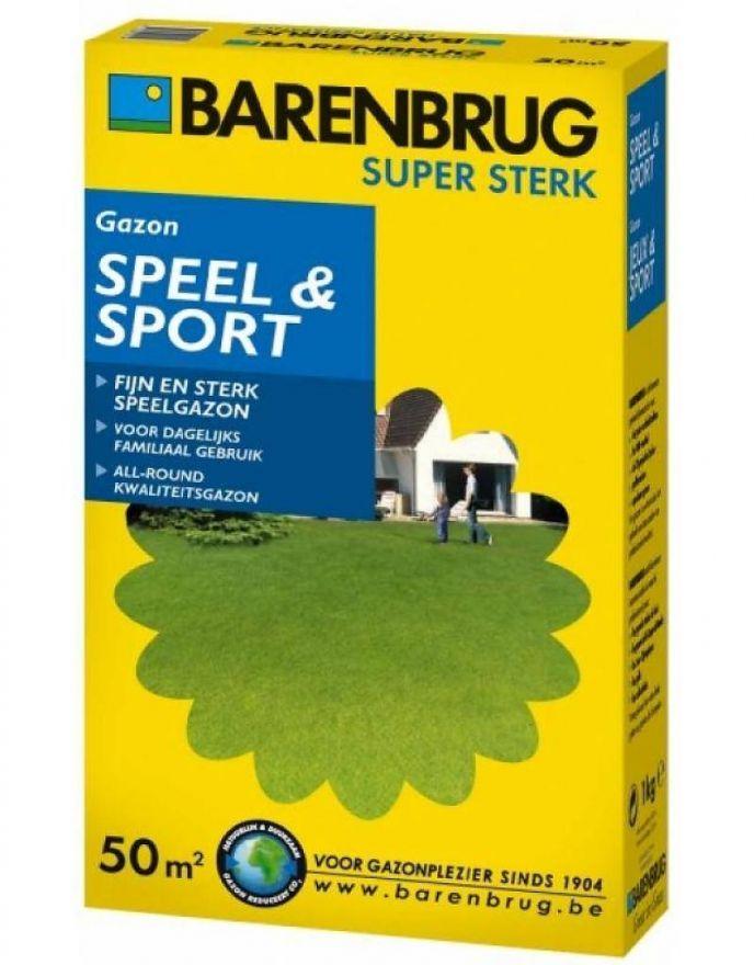Barenbrug Speel & Sport (1 kg graszaad voor siergazon)