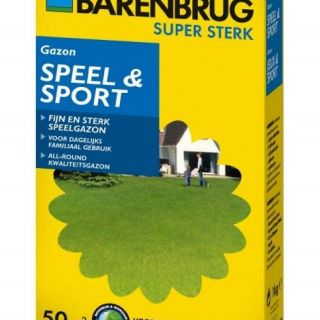 Barenbrug Speel & Sport 1000 gram (graszaad 50 m2 siergazon, Artikelnummer 0229)